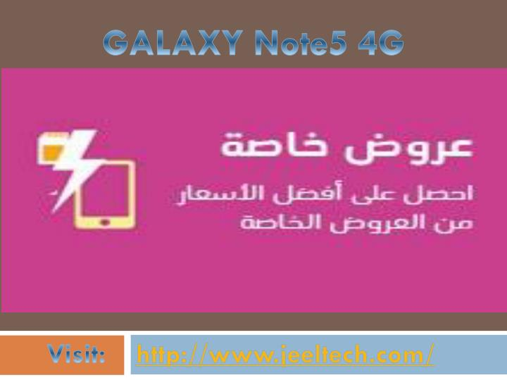 GALAXY Note5 4G