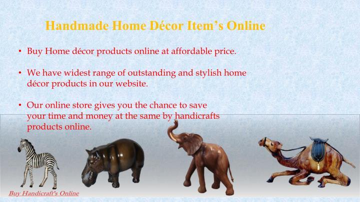Handmade Home Décor Item's Online