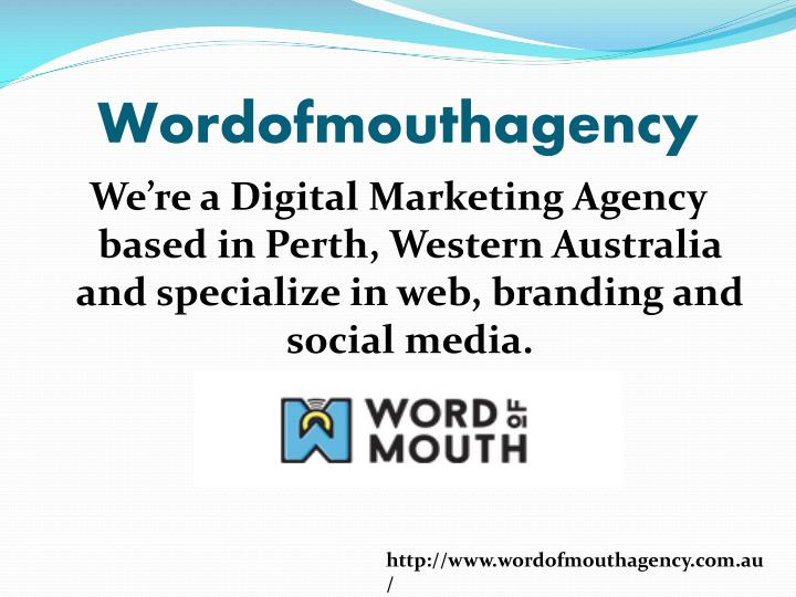 Wordofmouthagency