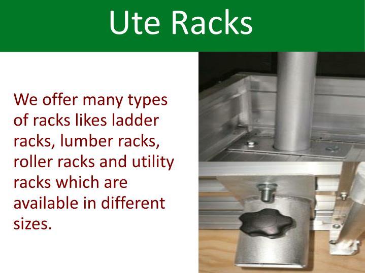 Ute Racks
