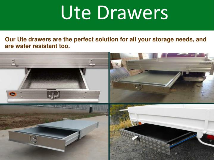Ute Drawers