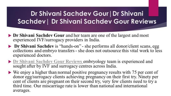 Dr shivani sachdev gour reviews dr shivani sachdev gour contact number