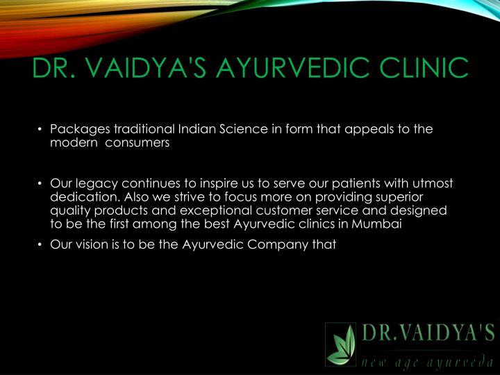 Dr. Vaidya's Ayurvedic Clinic