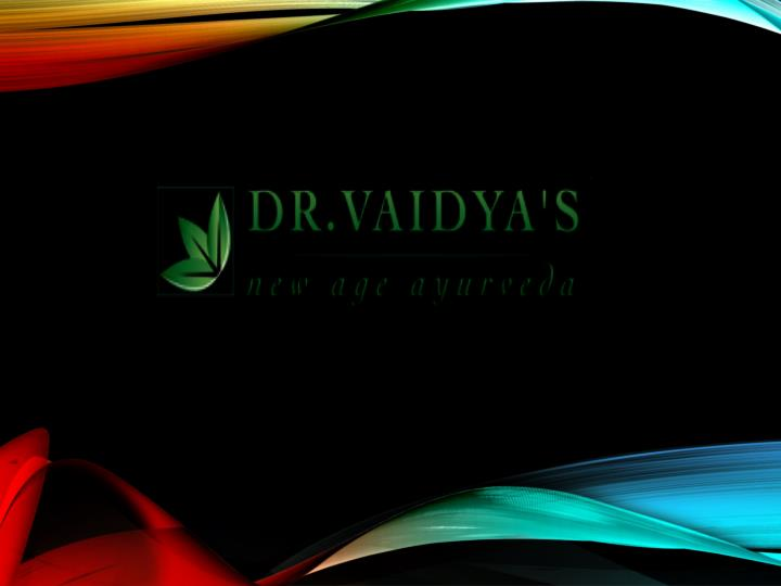 Drvaidyas ayurvedic medicines herbal products