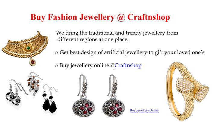 Buy Fashion Jewellery @
