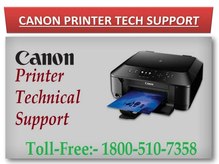 CANON PRINTER TECH SUPPORT