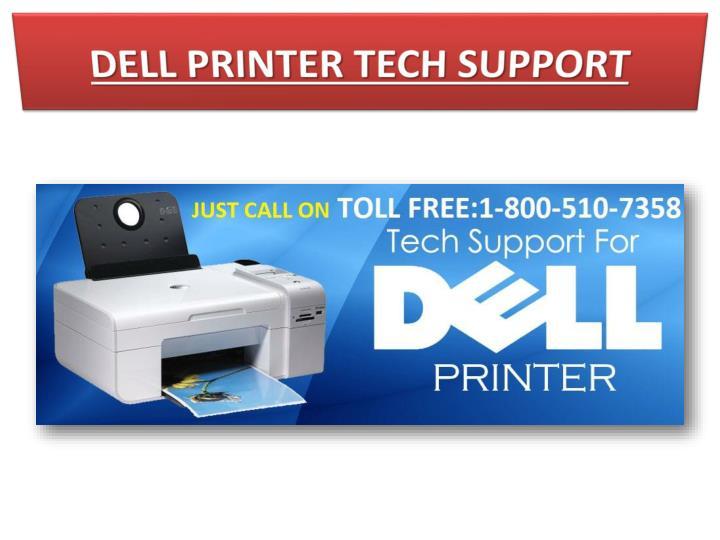 DELL PRINTER TECH SUPPORT