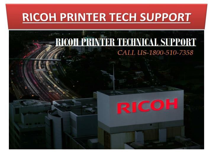 RICOH PRINTER TECH SUPPORT