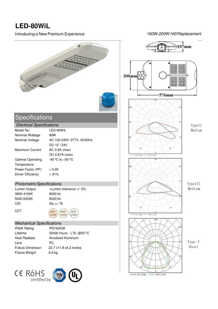 LED-80WiL