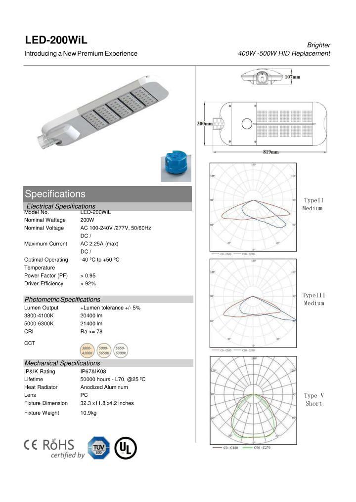 LED-200WiL