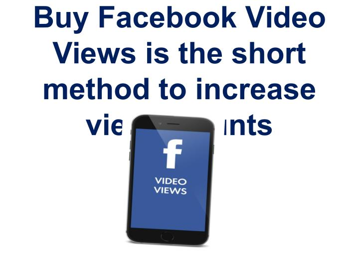 Buy Facebook Video