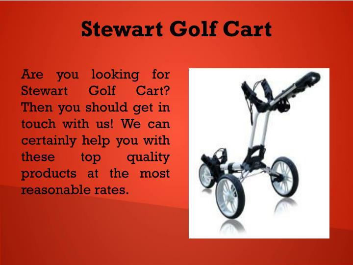 Stewart Golf Cart