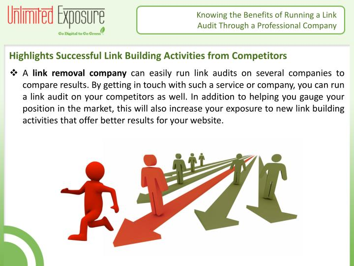 Highlights Successful Link Building Activities from Competitors