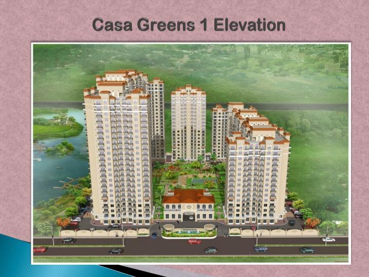 Casa Greens 1 Elevation