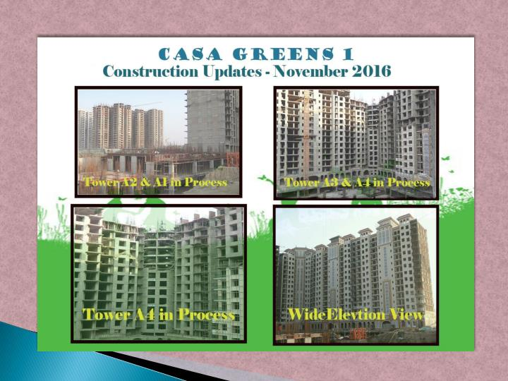 Casa greens 1 boasts of amazing elevation features