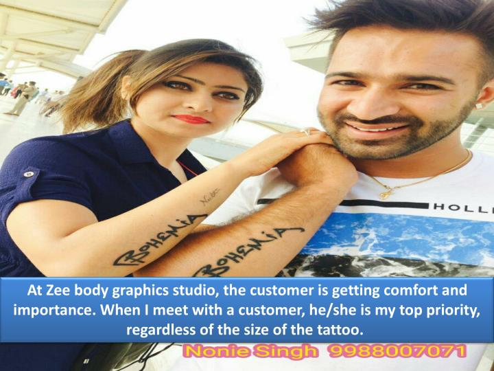 At Zee body graphics studio, the customer is getting comfort and importance. When I meet with a cust...