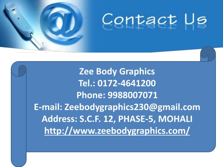 Zee Body Graphics
