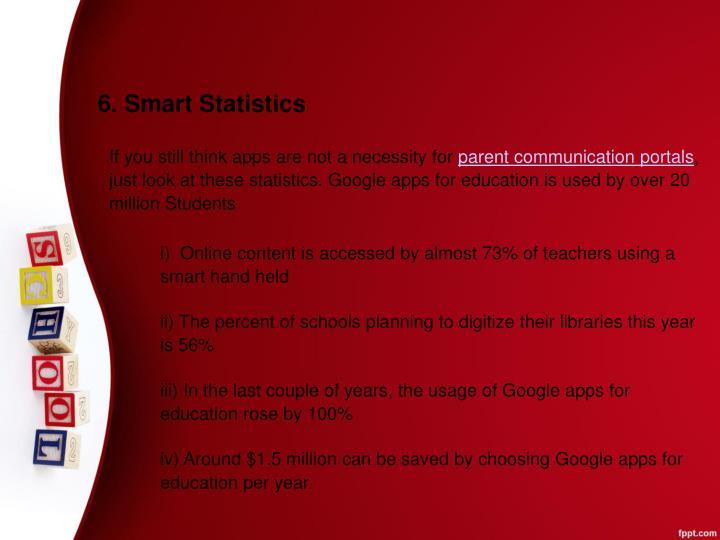 6. Smart Statistics