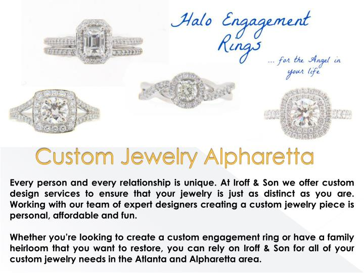 Custom Jewelry Alpharetta