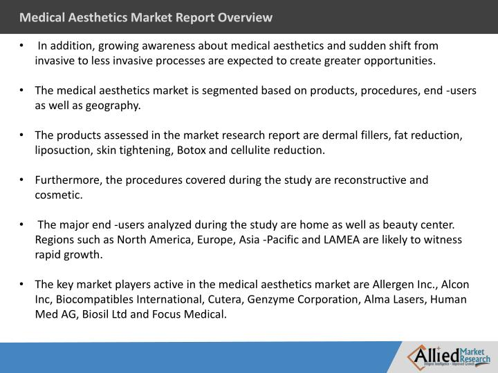 Medical Aesthetics Market Report