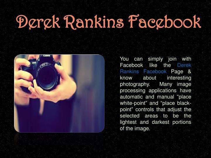 Derek Rankins Facebook