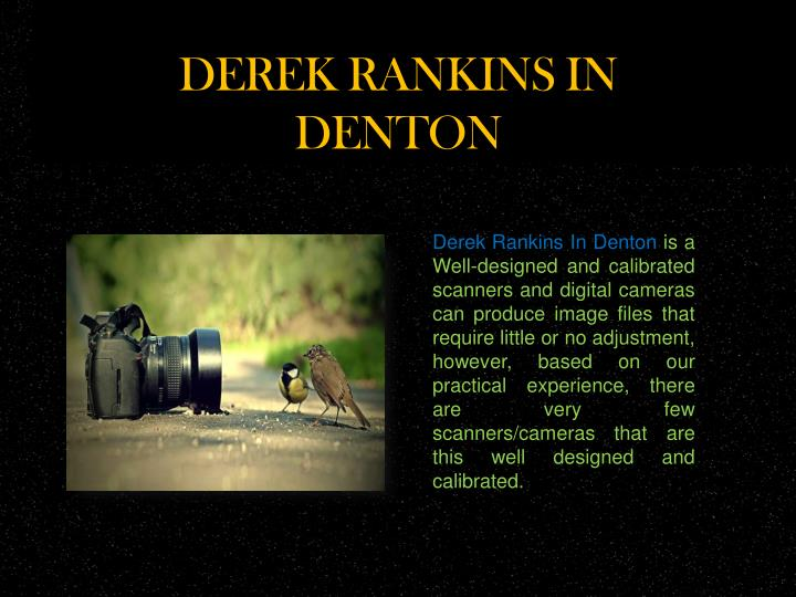 Derek rankins in denton