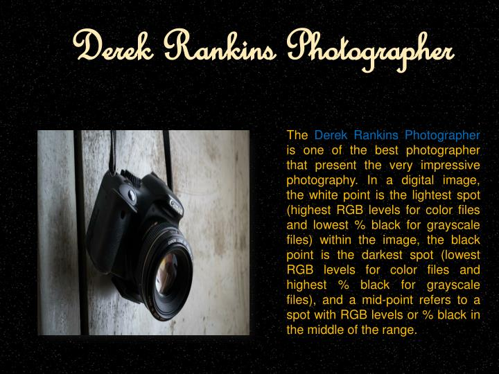Derek rankins photographer
