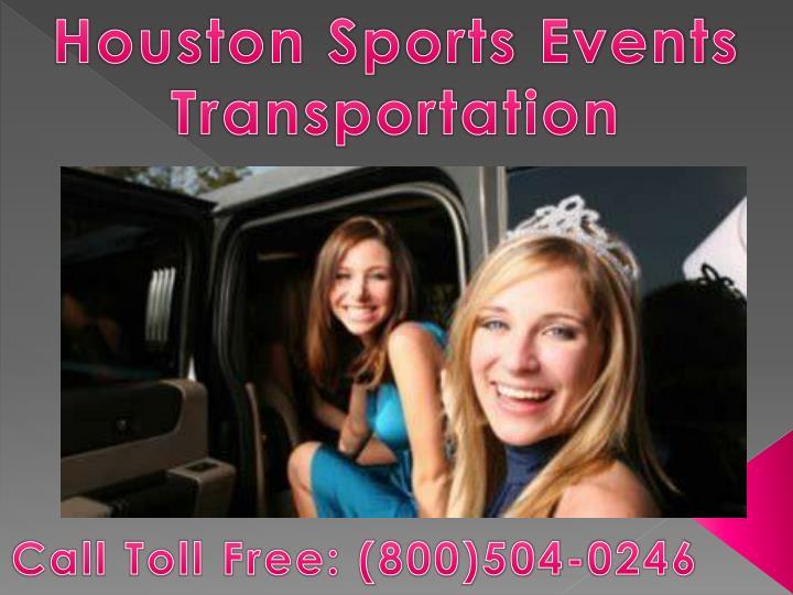 Houston Sports Events Transportation