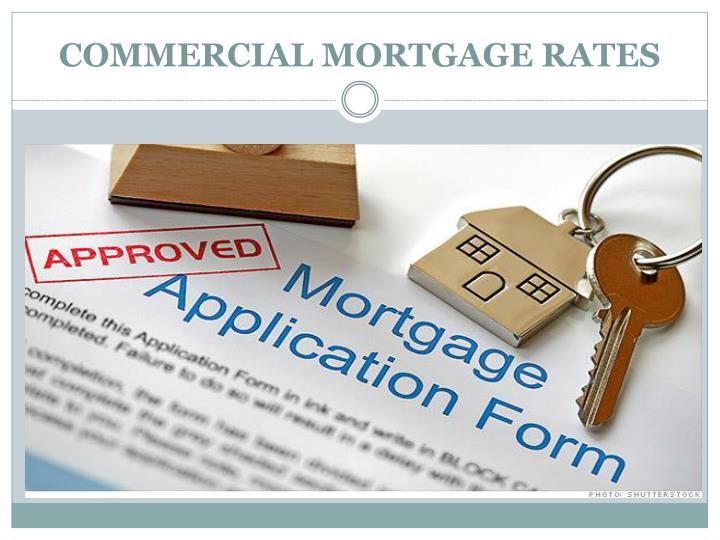 Commercial mortgage rates