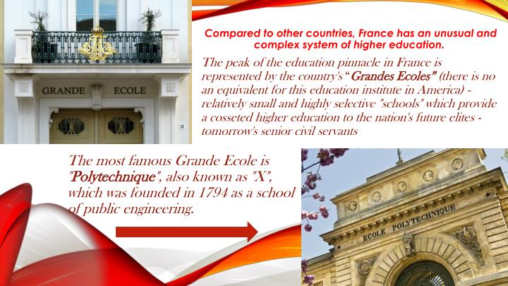 The most famous Grande Ecole is ""