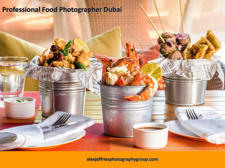 Professional Food Photographer Dubai
