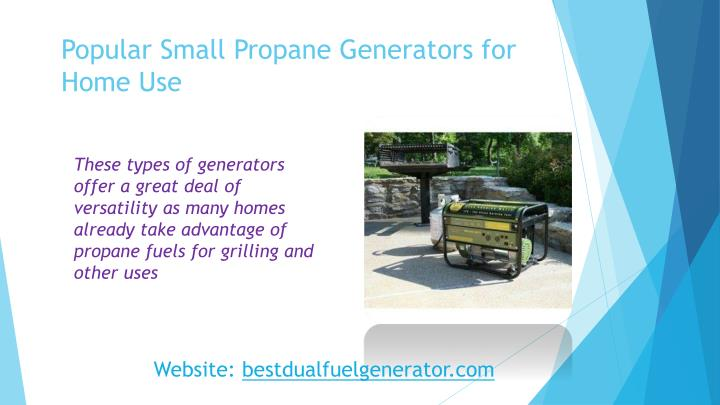 Popular Small Propane Generators for Home Use