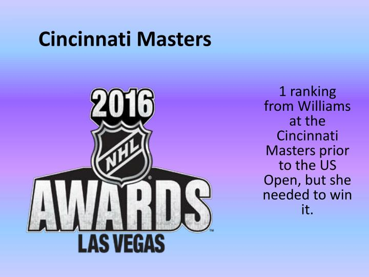Cincinnati Masters