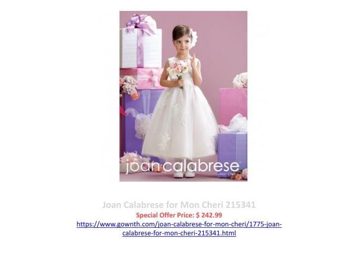 Joan Calabrese for Mon Cheri 215341