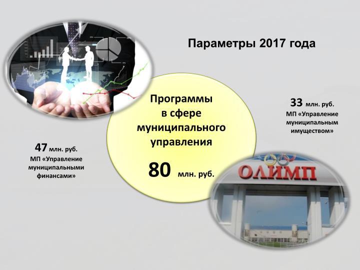 Параметры 2017 года