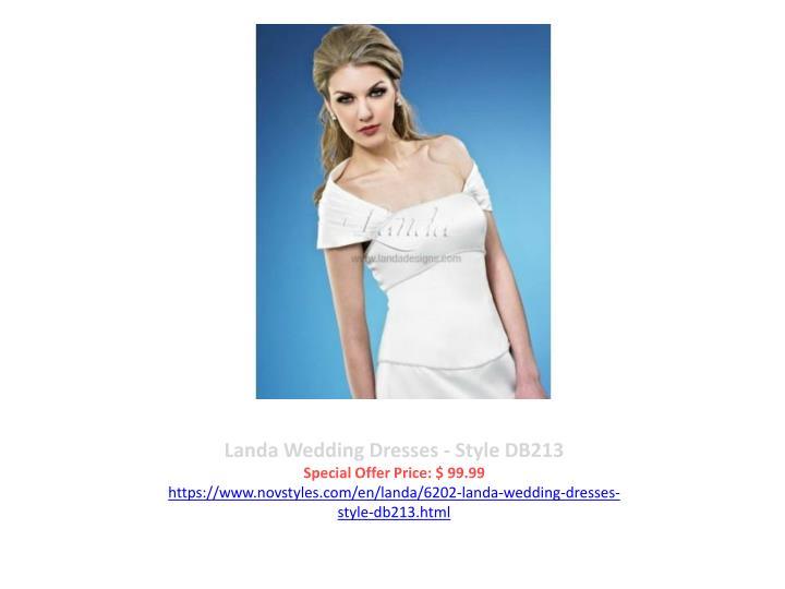Landa Wedding Dresses - Style DB213