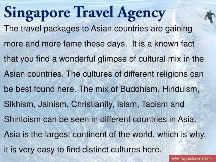 Singapore Travel Agency