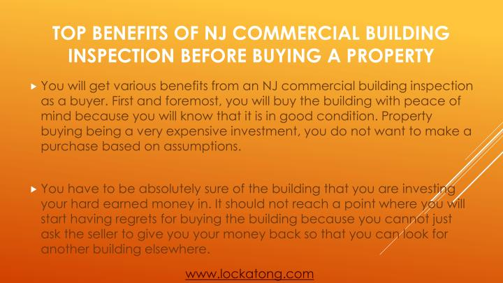 Top benefits of nj commercial building inspection before buying a property2