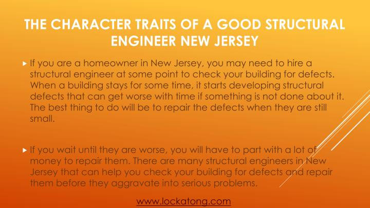 The character traits of a good structural engineer new jersey1