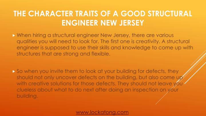 The character traits of a good structural engineer new jersey2