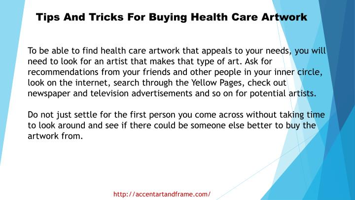 Tips And Tricks For Buying Health Care Artwork