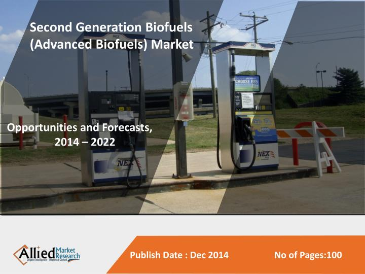 Second Generation Biofuels