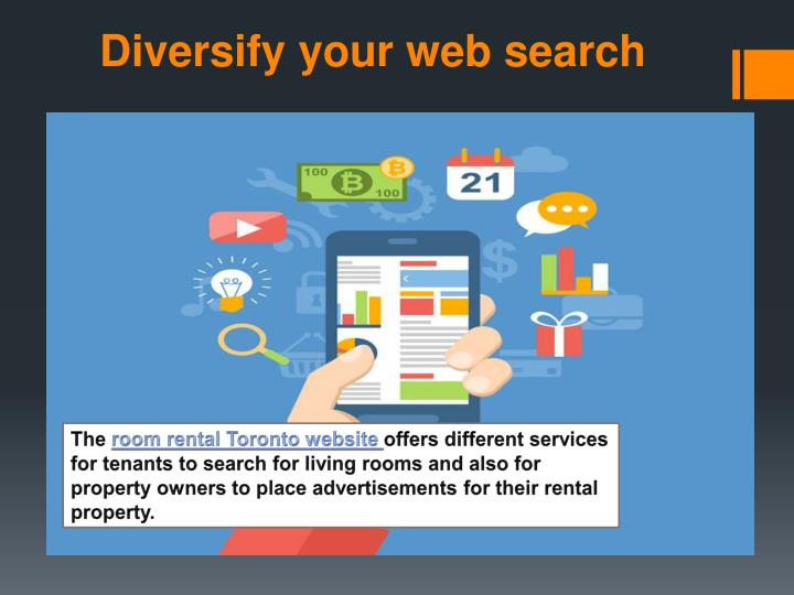 Diversify your web search