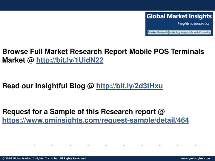 Browse Full Market Research Report Mobile POS Terminals Market @