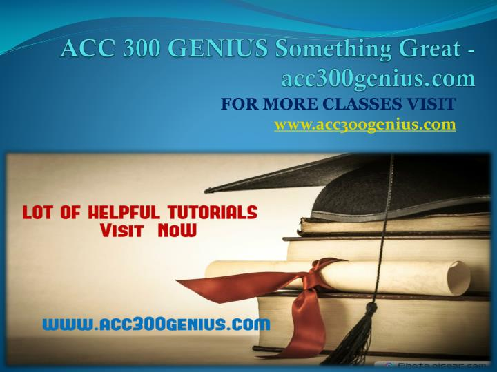 Acc 300 genius something great acc300genius com