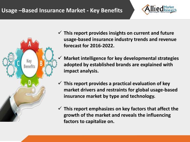 Usage –Based Insurance