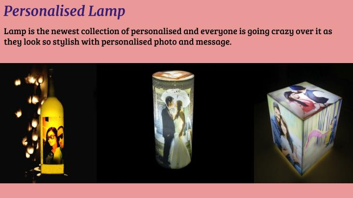 Personalised Lamp