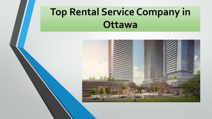 Top Rental Service Company in