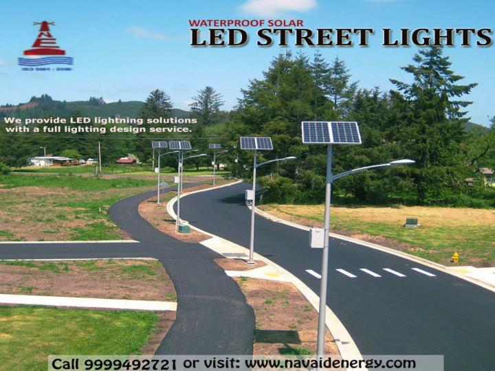 Best manufacturer installer and designer of solar led light in delhi and noida ncr
