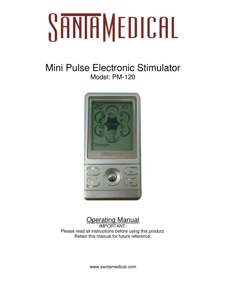 Mini Pulse Electronic Stimulator